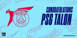 Worlds 2020 : c'est dans la poche pour le PSG Talon