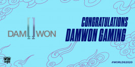 Worlds 2020 : DAMWON Gaming valide sa qualification