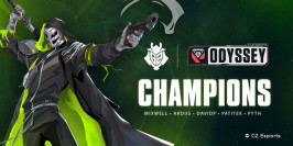 G2 Esports remporte l'Allied Esports Odyssey