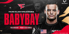 FaZe Clan officialise le recrutement de Babybay