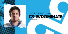 IWillDominate rejoint Cloud9 comme streamer