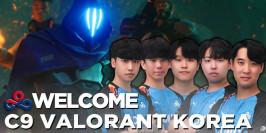 Cloud9 présente son équipe coréenne sur Valorant
