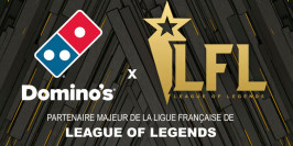 La Ligue Française de League of Legends en partenariat avec Domino's Pizza
