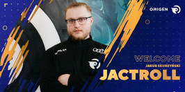 Mercato LoL : Origen confirme le recrutement de Jactroll