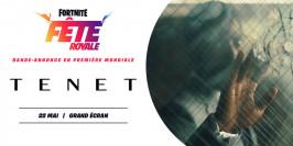 Bande-annonce de Tenet en première mondiale dans Fortnite