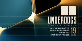 Underdogs 2020 : le suivi du tournoi