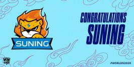 Worlds 2020 : Suning obtient sa qualification