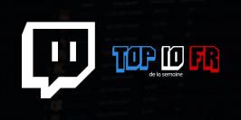 Top 10 des streamers français du 18 au 24 mai 2020