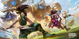 Présentation des champions de League of Legends Wild Rift
