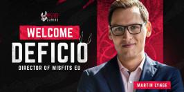 Mercato LoL : Deficio rejoint Misfits Gaming