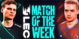 LEC : Fnatic - Rogue pour le match de la semaine