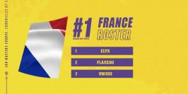 À la rencontre des membres de l'équipe de France du LoR Masters Europe