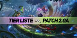 Patch 2.0a : la tier list des champions en soloQ