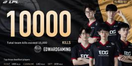LPL : la barre des 10 000 kills pour EDward Gaming