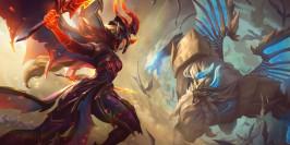 PBE LoL 11.8 : les nouveaux skins Blackfrost et Dragonslayer