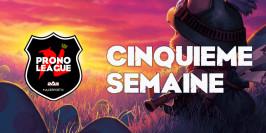 Prono League LFL : pronostiquez sur la Semaine 5