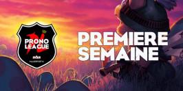 Prono League : le récap' de la Semaine 1