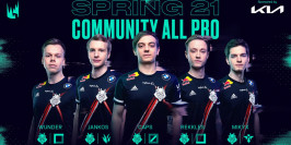 LEC : la All-Pro Team du Spring Split 2021