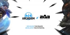 Arcadium Esport nouveau partenaire de *aAa*