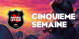 Prono League LFL : le récap' de la Semaine 5