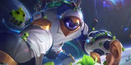 PBE LoL 11.13 : les nouveaux skins Astronaut se peaufinent