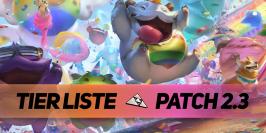 Patch 2.3 : la tier list des champions en soloQ