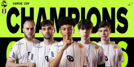 La Karmine Corp gagne les European Masters Summer split 2021