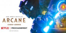 Des illustrations d'Arcane mises en ligne par Riot et Netflix