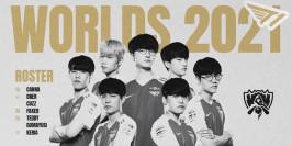 T1 officialise son équipe pour les Worlds 2021
