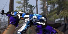 Une AK-47 Vulcan et ses stickers Titan Holo mise en vente à 200 000$