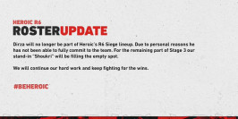Heroic se sépare de Dirza et officialise Shoukri
